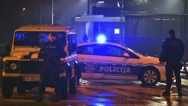 モンテネグロ 米大使館に爆発物投下の不審者が現場で自殺 - Sputnik 日本
