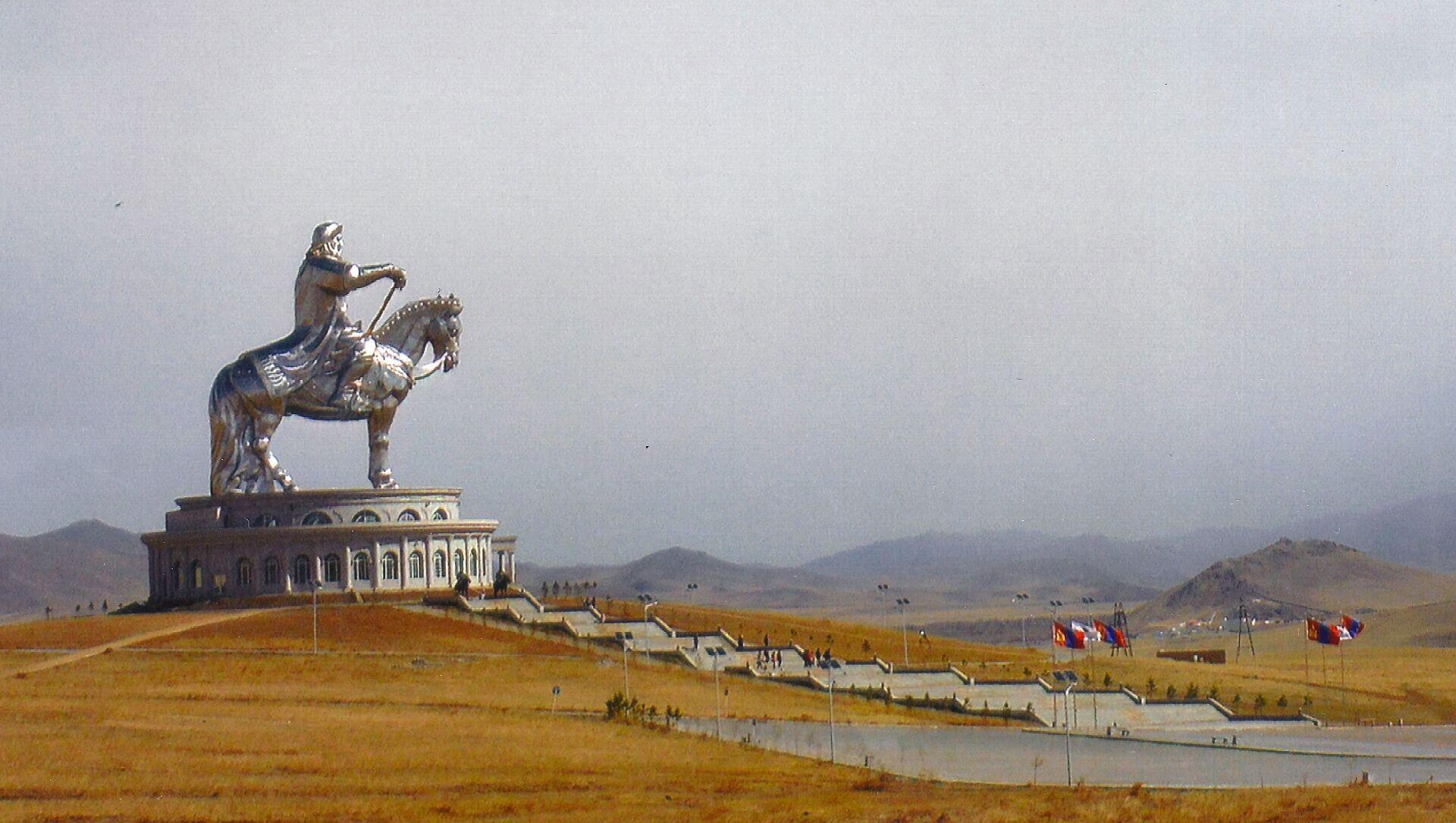 モンゴル、チンギスハーン像 - Sputnik 日本, 1920, 05.07.2021