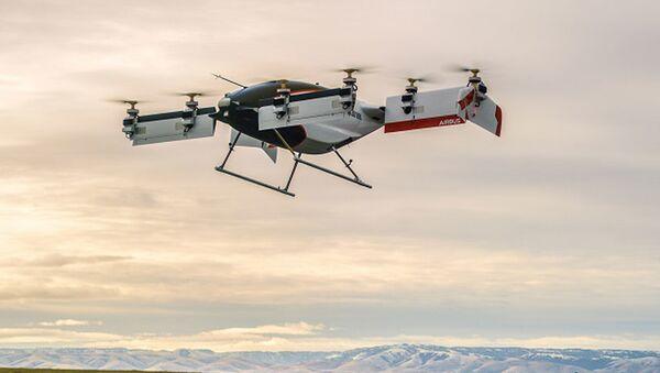 Первое летающее такси Alpha One проекта Vahana компании Airbus - Sputnik 日本