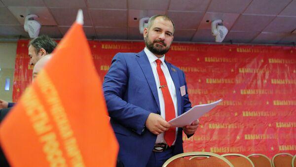 Съезд партии Коммунисты России - Sputnik 日本