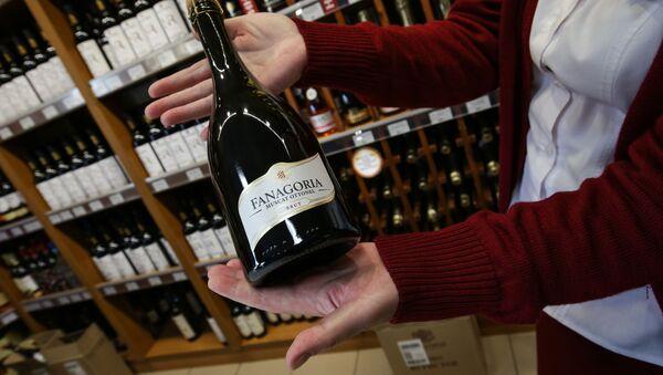 Фирменный магазин Фанагория на винодельческом предприятии Фанагория в Краснодарском крае - Sputnik 日本