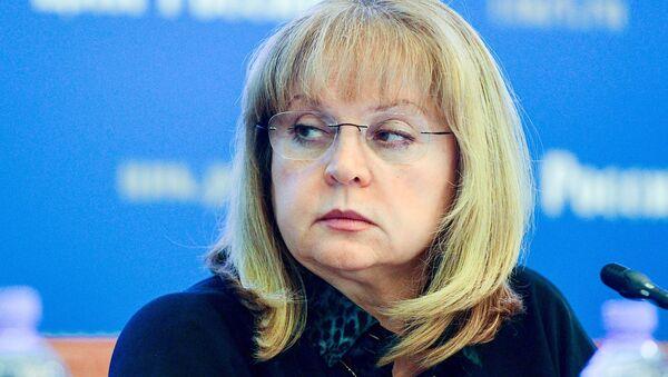 ロシア中央選挙管理委員会のエッラ・パムフィーロワ委員長 - Sputnik 日本