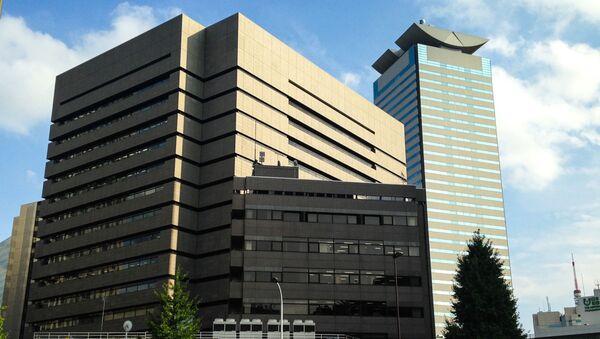 Здания патентного ведомства Японии и штаб-квартиры компании Japan Tobacco в Токио - Sputnik 日本