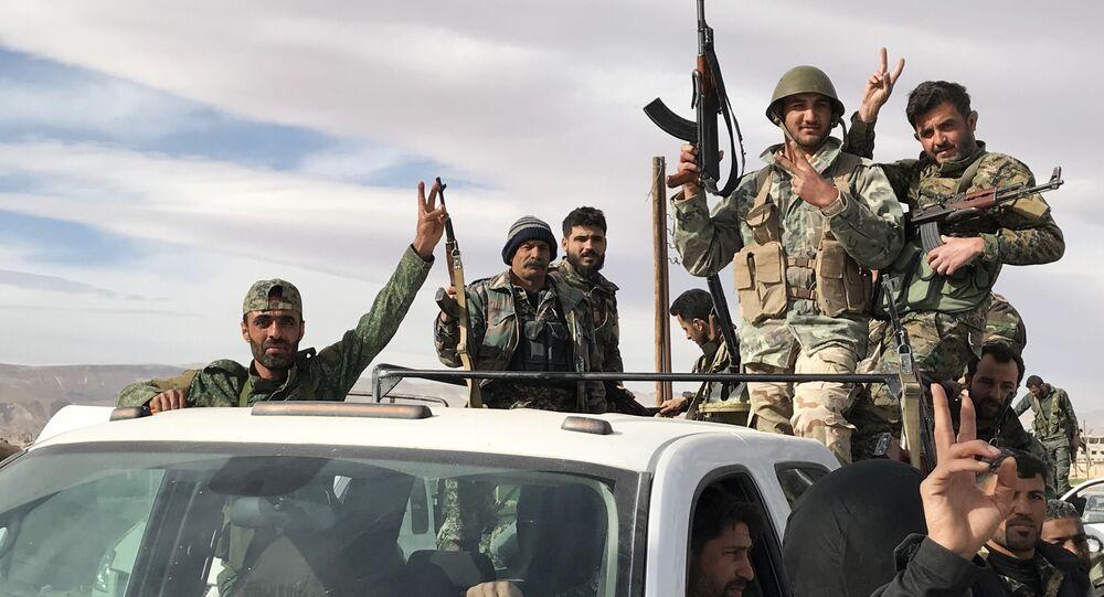 シリア軍、東グータで