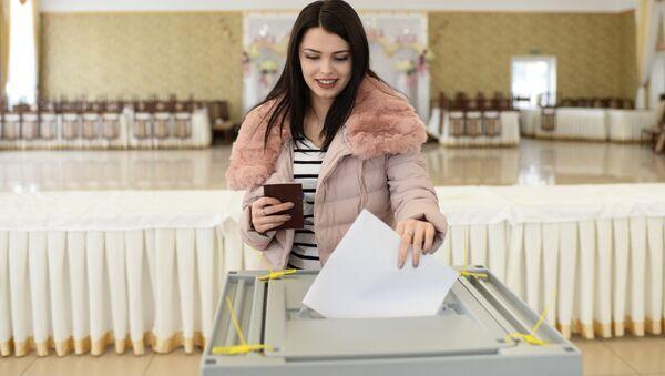 ロシア 大統領選の投票 - Sputnik 日本