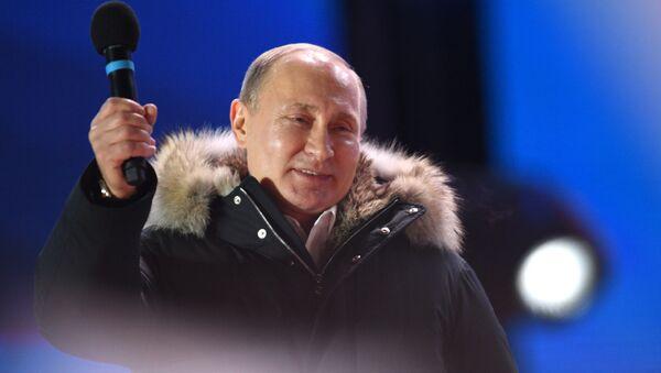 プーチン氏、大きくリード 開票率97%で得票率76.6%=ロシア中央選管 - Sputnik 日本