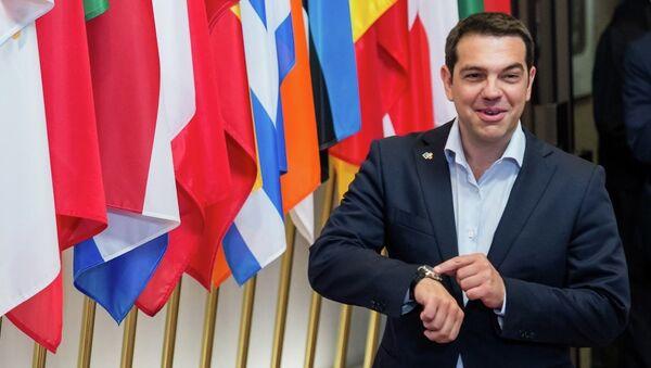 ギリシャのアレクシス・ツィプラス首相 - Sputnik 日本