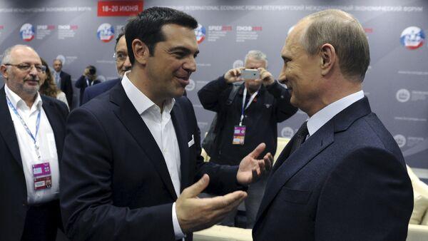 露ギリシャ首脳会談が終了 - Sputnik 日本