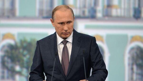 プーチン大統領:ロシアは国有資産差し押さえの違法性を証明する - Sputnik 日本