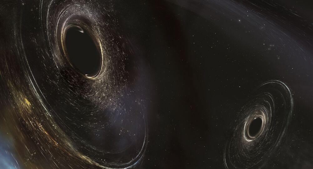 ブラックホール(アーカイブ写真)