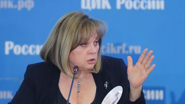 ロシア中央選挙管理委員会のパムフィロワ委員長 - Sputnik 日本