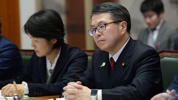 Министр экономики, торговли и промышленности Японии Хиросигэ Сэко - Sputnik 日本