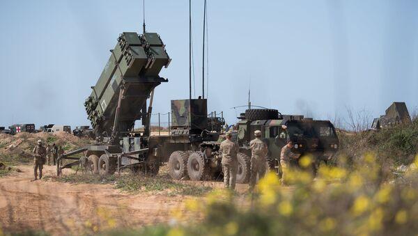 Американский противоракетный комплекс во время совместных маневров Израильской и Американской армии в Израиле - Sputnik 日本