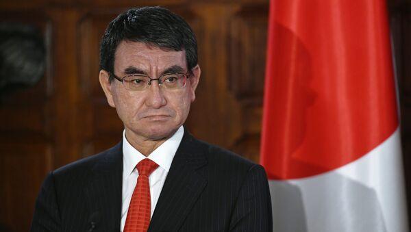 河野太郎行政改革担当大臣 - Sputnik 日本