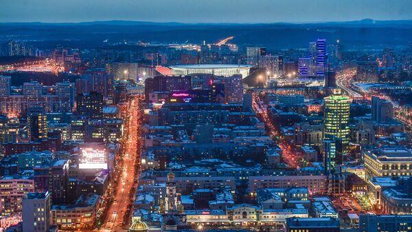 Стадион Екатеринбург Арена в Екатеринбурге - Sputnik 日本