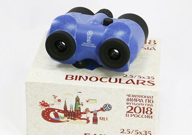 ロシアW杯限定版の双眼鏡が発売へ