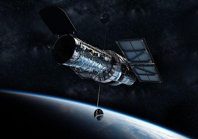 ハッブル宇宙望遠鏡(アーカイブ写真)