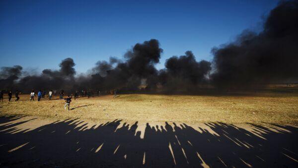 ガザ地区パレスチナがイスラエルにミサイル攻撃 - Sputnik 日本