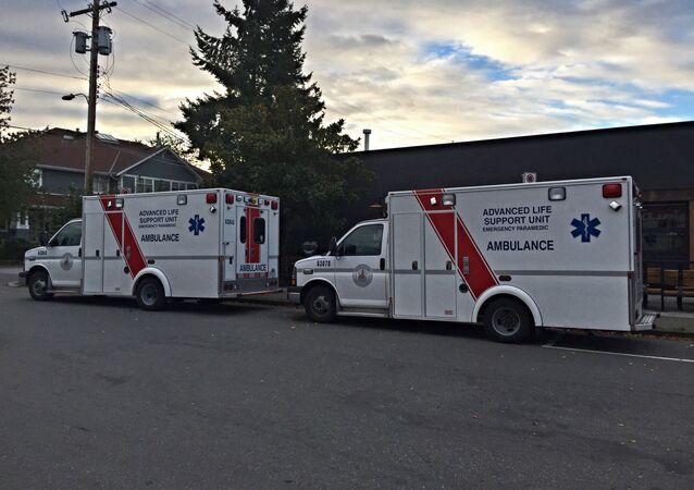 カナダ、救急車(アーカイブ)
