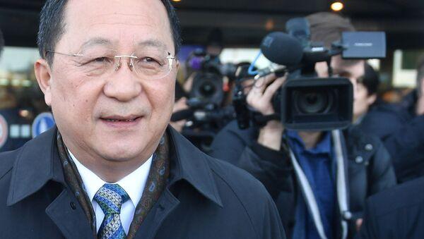北朝鮮外相がロシアに到着 - Sputnik 日本