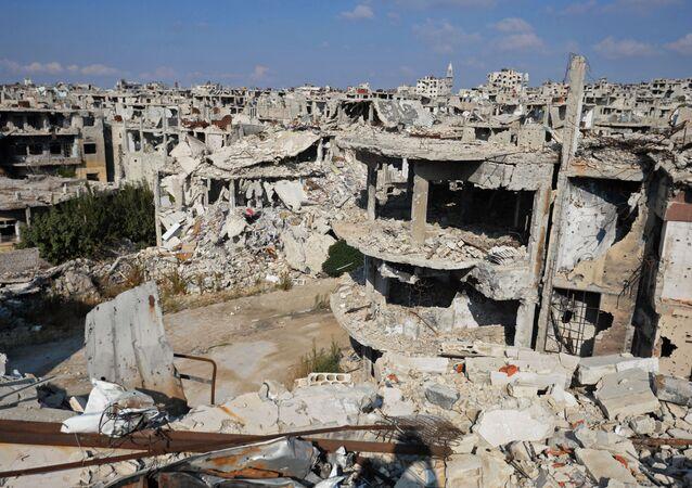 シリアのホムス