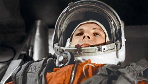 宇宙船「ヴォストーク」船内にいる ユーリ・ガガーリン - Sputnik 日本