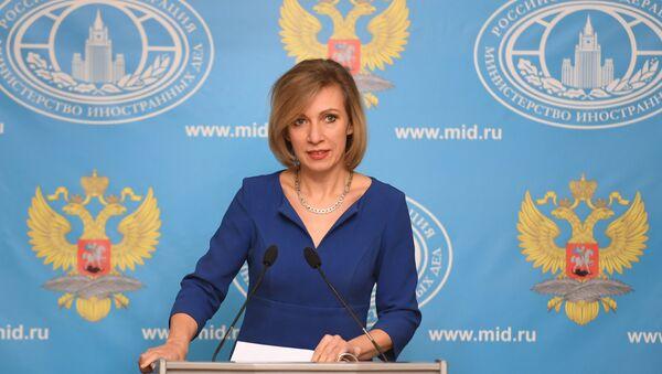 Официальный представитель министерства иностранных дел РФ Мария Захарова - Sputnik 日本