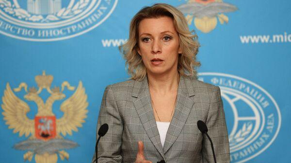 Официальный представитель министерства иностранных дел России Мария Захарова. - Sputnik 日本
