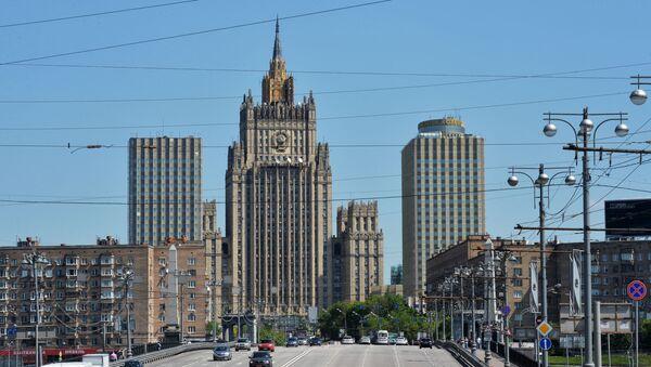 Здание Министерства иностранных дел РФ - Sputnik 日本
