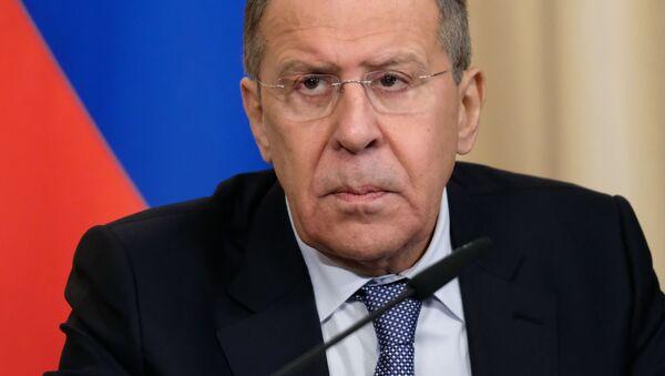Министр иностранных дел России Сергей Лавров - Sputnik 日本