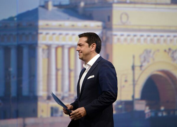 ギリシャのツィプラス首相も参加した - Sputnik 日本
