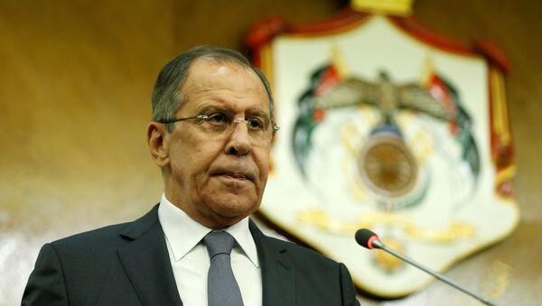 El ministro ruso de Asuntos Exteriores, Serguéi Lavrov - Sputnik 日本