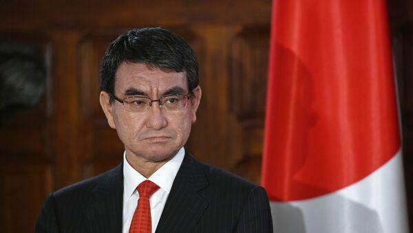 河野氏、韓国義援金に謝意 「早期復旧の助けに」 - Sputnik 日本