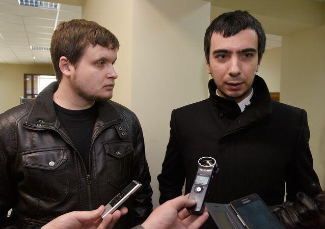 ロシアのいたずら男ウラジーミル・クズネツォフとアレクセイ・ストリャロフ