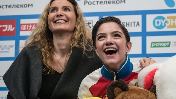 エフゲニア・メドベージェワとエテリ・トゥトベリーゼ氏 - Sputnik 日本