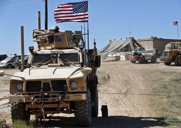 シリアの米軍基地に攻撃