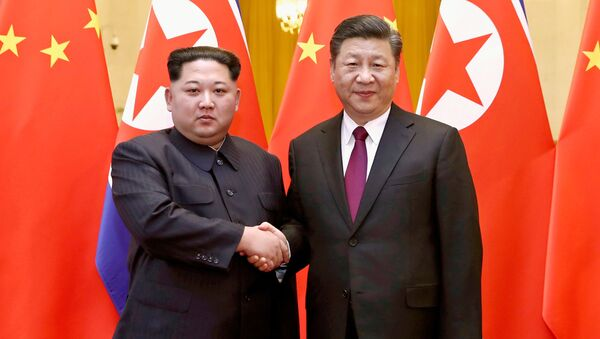 金正恩氏 習国家主席は「偉大な指導者」 - Sputnik 日本