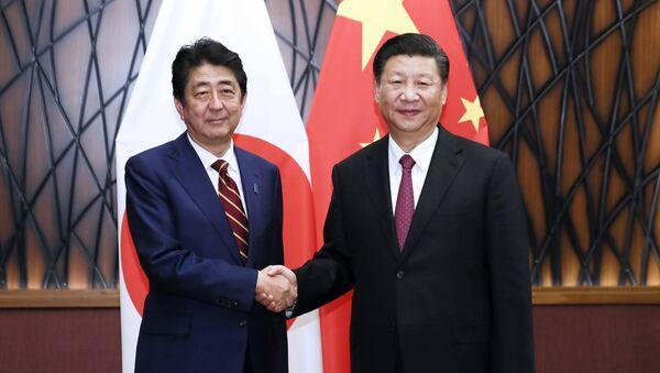 日本の安倍晋三首相と国の習近平国家主席(アーカイブ写真) - Sputnik 日本