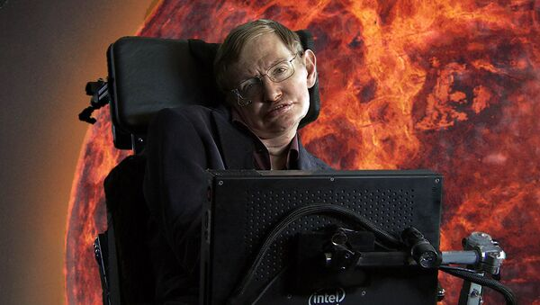 Stephen Hawking - Sputnik 日本