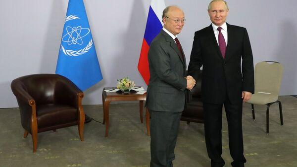 プーチン氏、IAEAトップと会談 - Sputnik 日本
