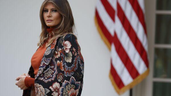 メラニア・トランプ米大統領夫人 - Sputnik 日本