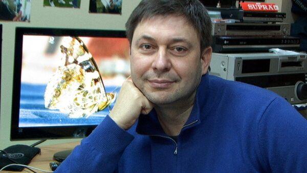 ロシアの通信社「リアノーボスチ・ウクライナ」のキリル・ヴィシンスキー記者 - Sputnik 日本