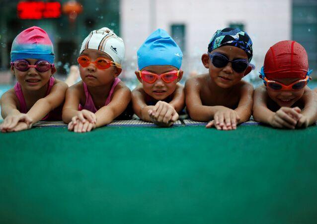 中国 子供