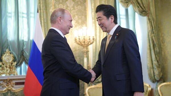 プーチン・安倍両首脳、交渉結果に関し報道向け発言を予定 露報道官 - Sputnik 日本