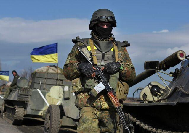 ウクライナ、兵士