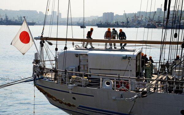 日本の実習船「海王丸」がウラジオストクを友好訪問 - Sputnik 日本