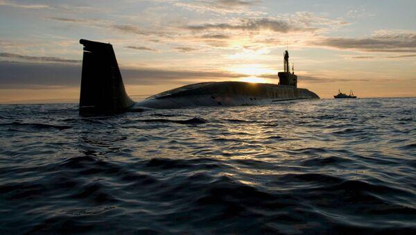 戦略的原子力潜水艦「ユーリー・ドルゴルーキー」(アーカイブ写真) - Sputnik 日本