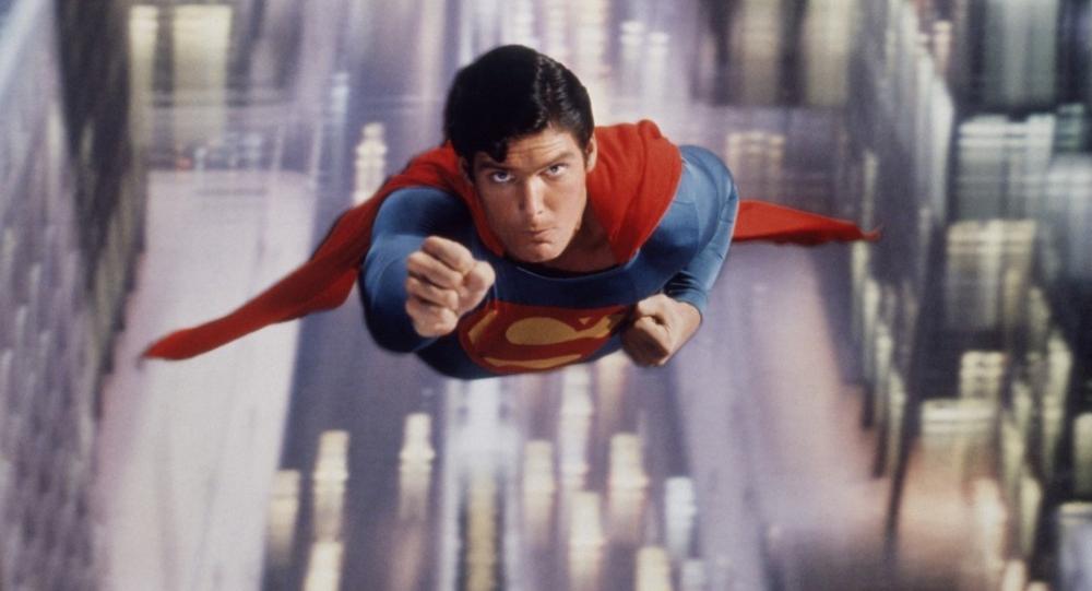 クリストファー・リーヴ主演の映画『スーパーマン』
