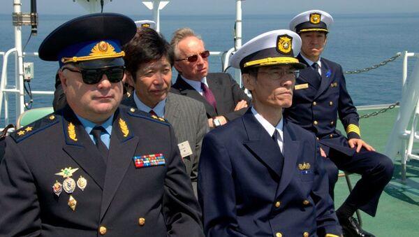 サハリン国境警備隊と日本海上保安庁の合同演習が終了 - Sputnik 日本