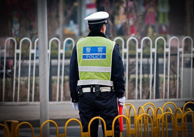 中国の警察(アーカイブ写真)